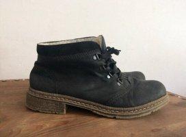 Rieker Lederschuhe/Boots, Innenfell, Gr. 42