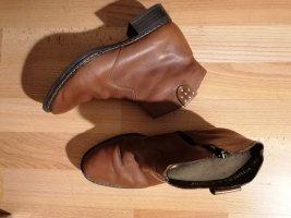 Rieker Stivale a gamba corta marrone-cognac