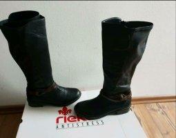 Rieker Riding Boots black-brown