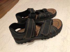 Rieker Trekkingsandale Sandale 40 schwarz neu