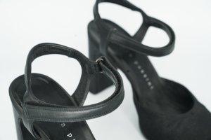 Andrea Puccini Pumps met bandjes zwart