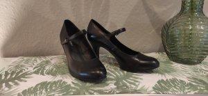 Graceland Escarpin à boucle noir cuir