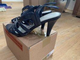Strapped Sandals dark blue