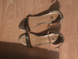 Riemchen sandalen Roségold