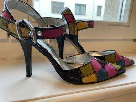 Starlet Sandales à talons hauts et lanière multicolore