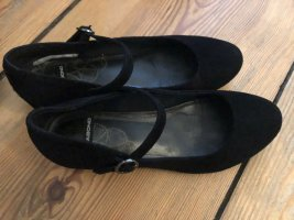 Vagabond Mary Jane Ballerinas black leather