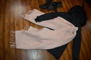 H&M Divided Woolen Scarf pink-light pink