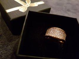 Ring 925 Silber rosegold Zirkonia - NEU