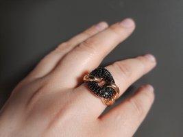 Ring aus Italien mit Spinel Gr. 58