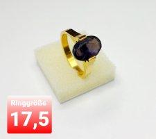 Ring aus Stahl mit Cz (NEU)