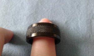 Ring Bering schwarz Gr. 11 (63)