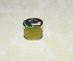 Swatch Statement Ring silver-colored-green