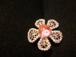 Gouden ring goud-roze