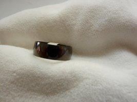 Ring in Schwarz Gr. 20 / 63 unbenutzt Damen Herren