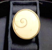 Ring, massiv, Perlmutt, silber 925    -  Inklusive Porto