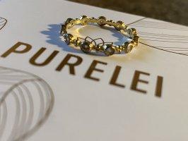 Purelei Złoty pierścionek złoto-biały
