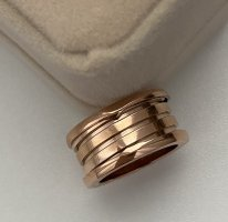 Ring Roségold Farbe NEU mit Etui Ringgröße 18.5mm