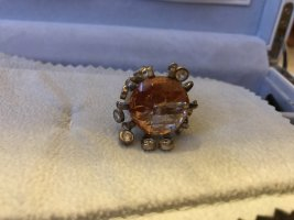 Christ Silver Ring russet