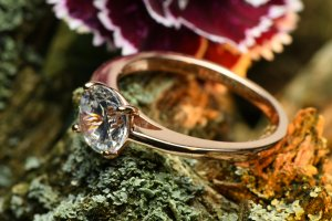 Keine Marke Silver Ring silver-colored metal
