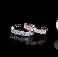 Anello d'oro argento-oro