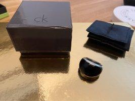 Calvin Klein Anillo de cuentas negro-color plata