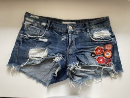 Ripped Jeansshorts