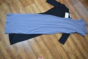 H&M Stretch jurk leigrijs