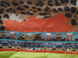 CLASS Roberto Cavalli Bufanda de seda multicolor