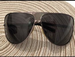 Roberto Cavalli Oval Sunglasses black-silver-colored