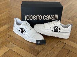 Roberto Cavalli Lace-Up Sneaker white