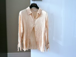 Roberto Cavalli Blusa Crash color carne Seta