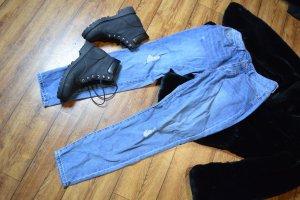 Robuste H&M Boots Gr. 40 schwarz