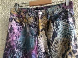 Rocco Barocco Jersey Pants multicolored