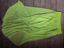 Silk Skirt neon green-neon yellow