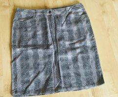 Angel of Style Jupe mi-longue noir-gris brun