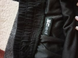 page Falda larga blanco-negro