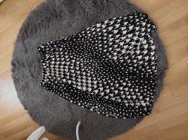 H&M Jupe plissée blanc-noir