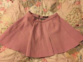 New Yorker Falda de patinador rosa