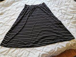 Street One Cirkelrok wit-zwart Polyester