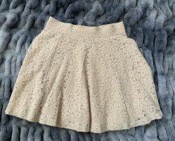 H&M Koronkowa spódnica Wielokolorowy