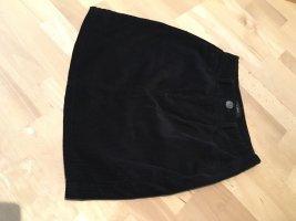 New Look Falda de talle alto negro