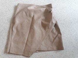 MNG Mini-jupe beige