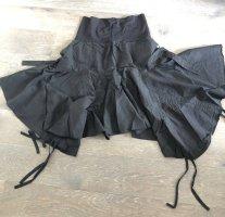 Ohne Asymmetry Skirt black cotton