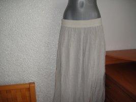 New Line Pronto Moda Falda larga beige claro
