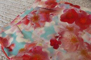 Rock Benneton Gr. 38 Eyecatcher tolle Farben Blumenmuster