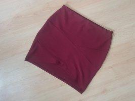 Missguided Minigonna rosso scuro