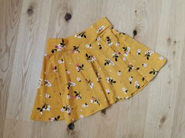 C&A Circle Skirt gold orange