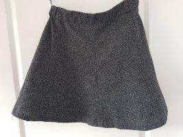 Only Falda midi gris