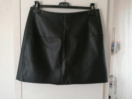 Pimkie Faux Leather Skirt black polyester