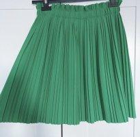 100% Fashion Plooirok bos Groen